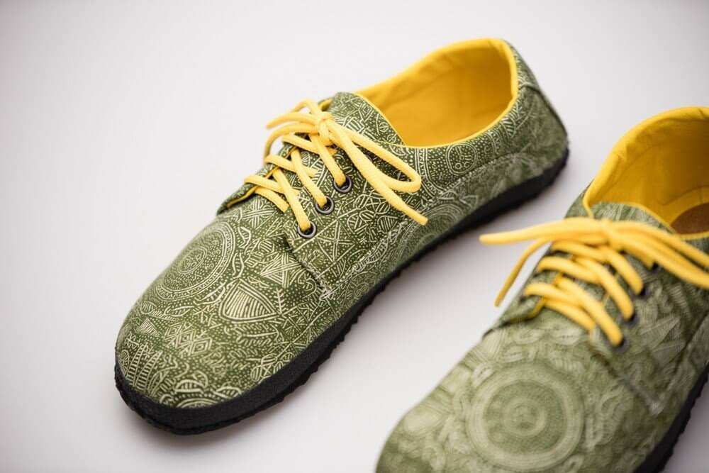Barefoot cipők Ahinsa Sundara Bare Tuareg Žlutý