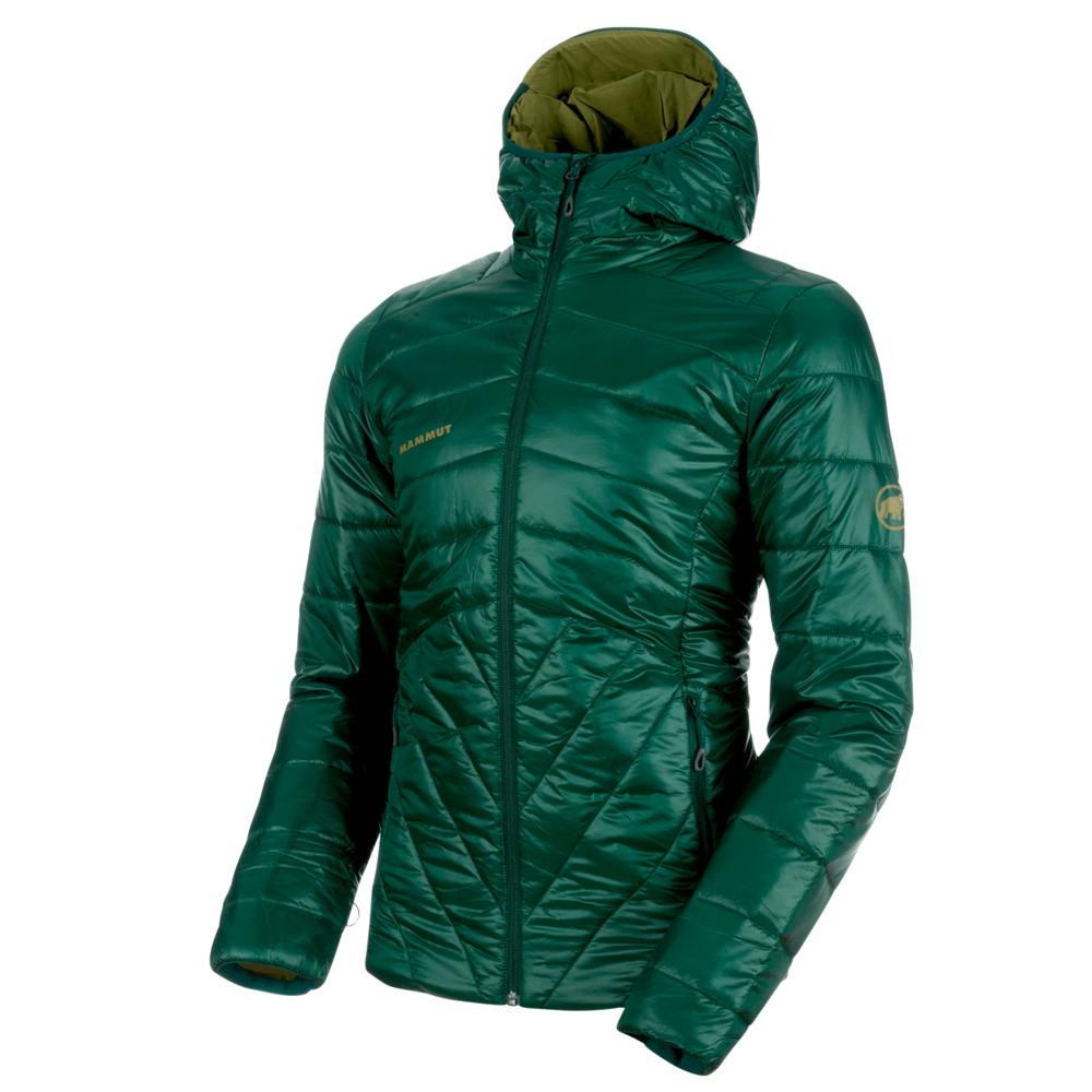 Kabátok Mammut Rime IN Hooded Jacket Men 40035 dark teal-clover