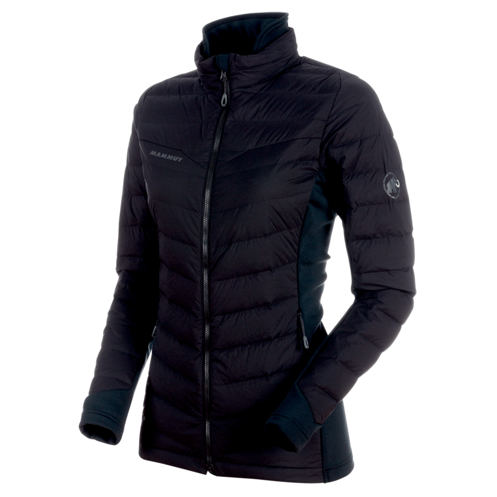 Kabátok Mammut Alyeska IN Flex Jacket Women black 0001