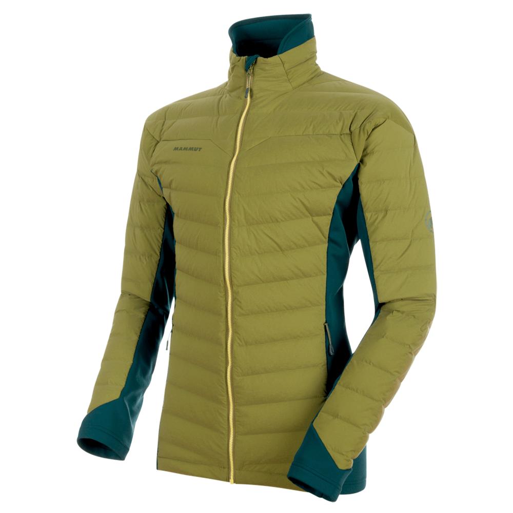 Kabátok Mammut Alyeska IN Flex Jacket Men 40001 clover-dark teal