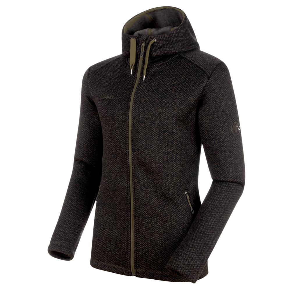 Kabátok Mammut Chamuera ML Hooded Jacket Men 40053 dark iguana
