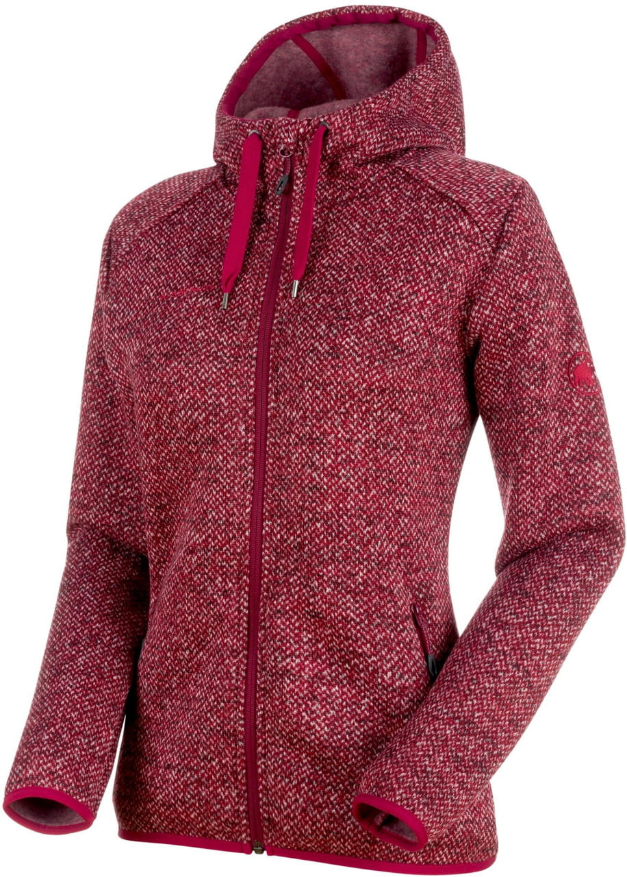 Kabátok Mammut Chamuera ML Hooded Jacket Women 3505 dark beet