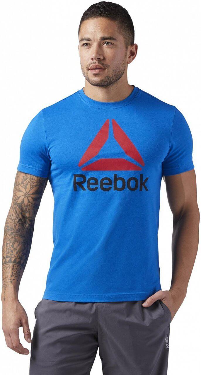 Pánské sportovní tričko Reebok QQR Stacked