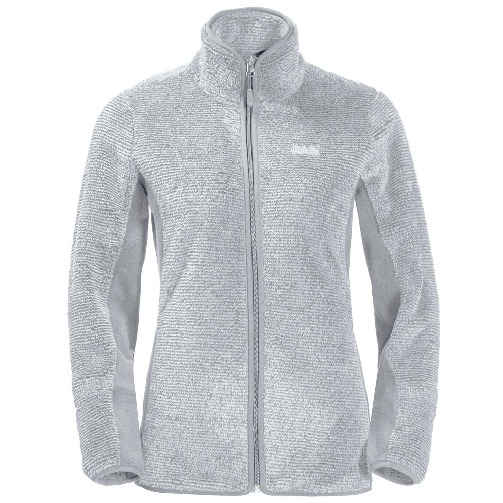 Kabátok Jack Wolfskin Pine Leaf Jacket Women slate grey stripes 7728