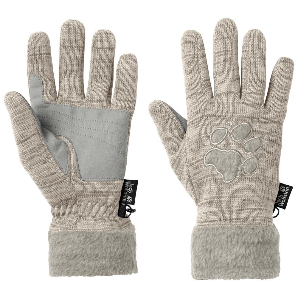 Kesztyűk Jack Wolfskin Aquila Glove Women light sand 5505