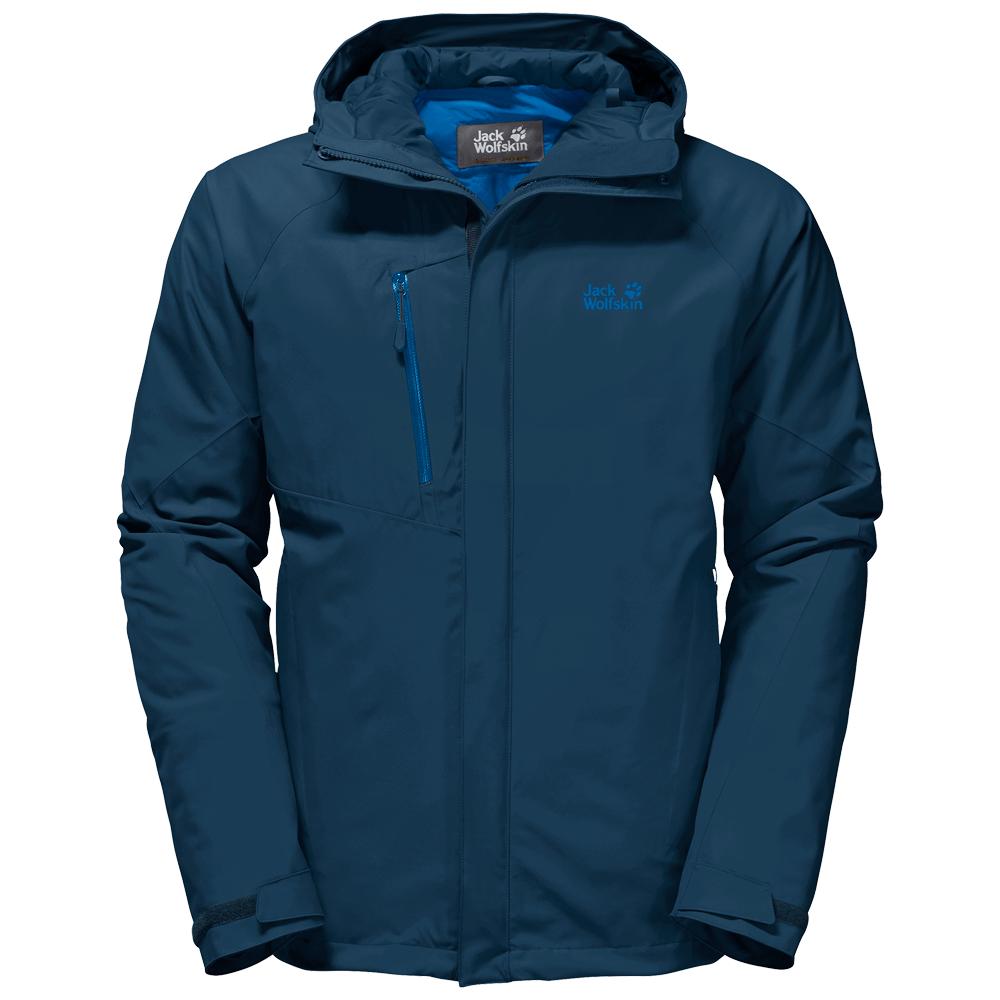 Kabátok Jack Wolfskin Troposphere Jacket Men poseidon blue 1134