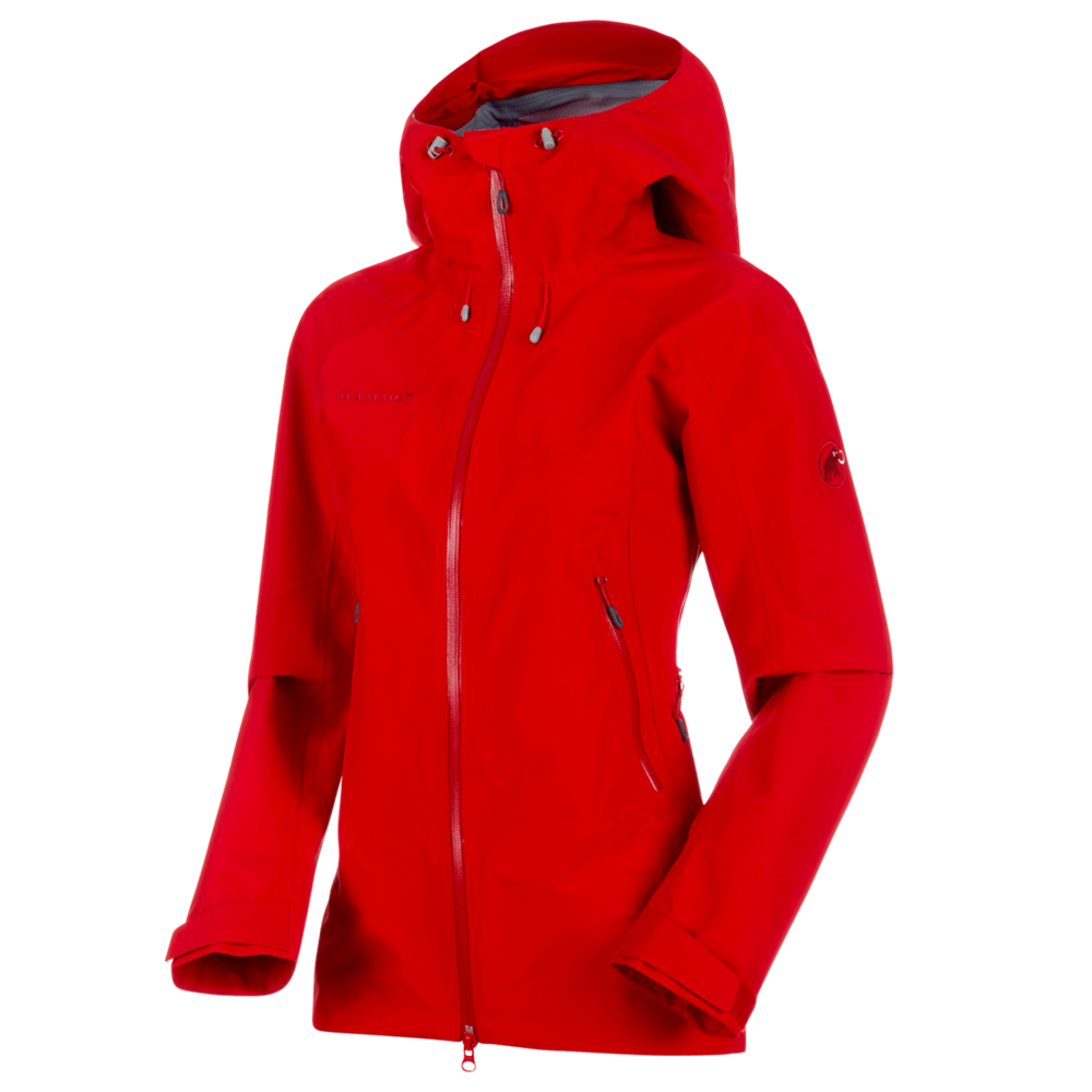 Kabátok Mammut Ridge HS Hooded Jacket Women 3465 magma