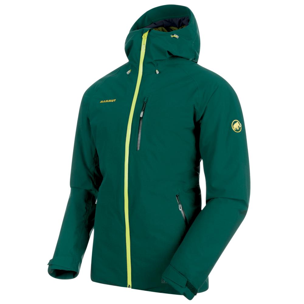 Kabátok Mammut Runbold HS Thermo Hooded Jacket Men 40035 dark teal-clover