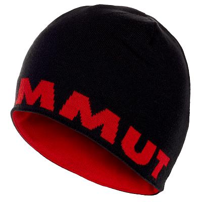 Čepice Mammut Mammut Logo Beanie 00093 black-magma