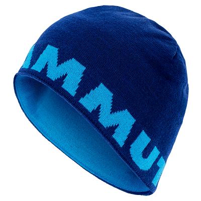 Čepice Mammut Mammut Logo Beanie 50080 ultramarine-imperial