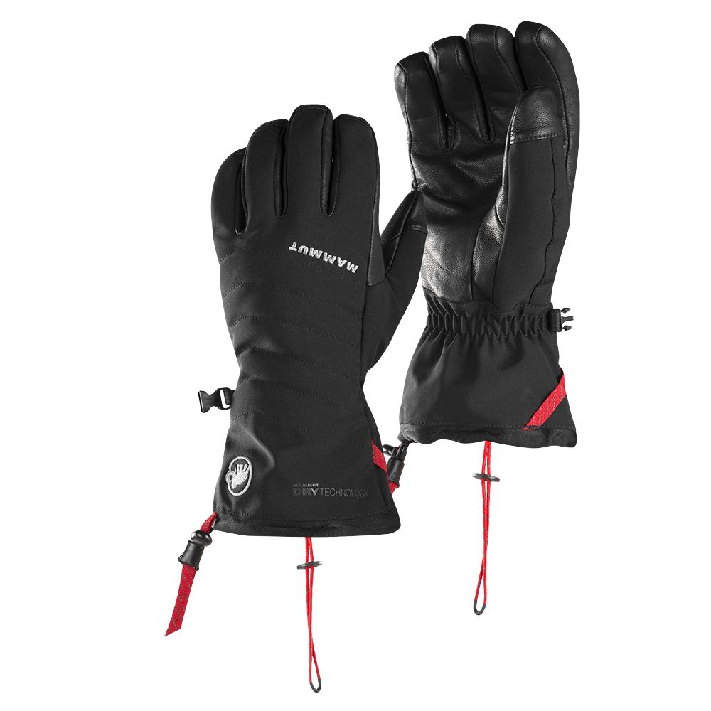 Kesztyűk Mammut Stoney Advanced Glove Women black 0001