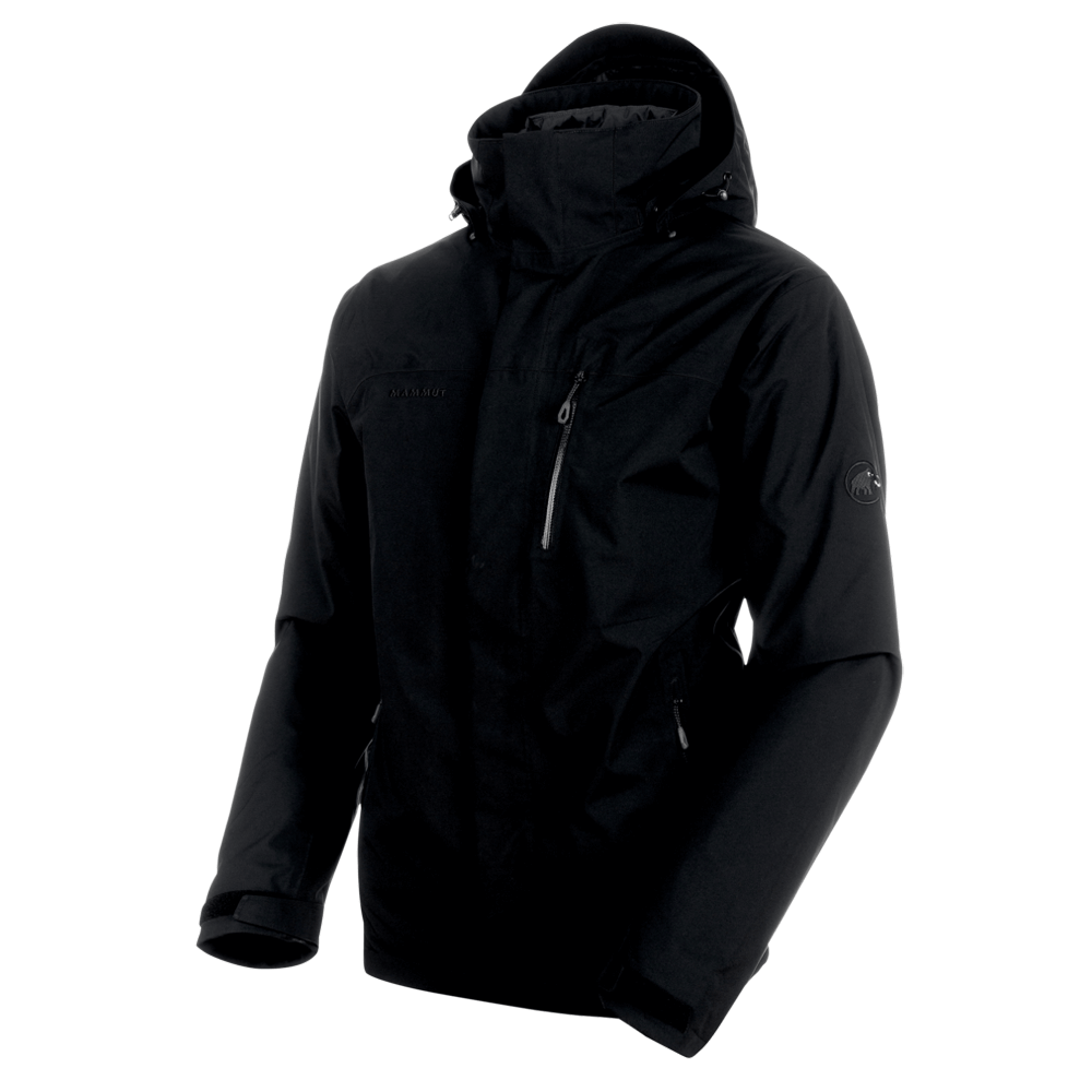 Kabátok Mammut Trovat Tour 3 in 1 HS Jacket Men 00187 black-phantom-phantom
