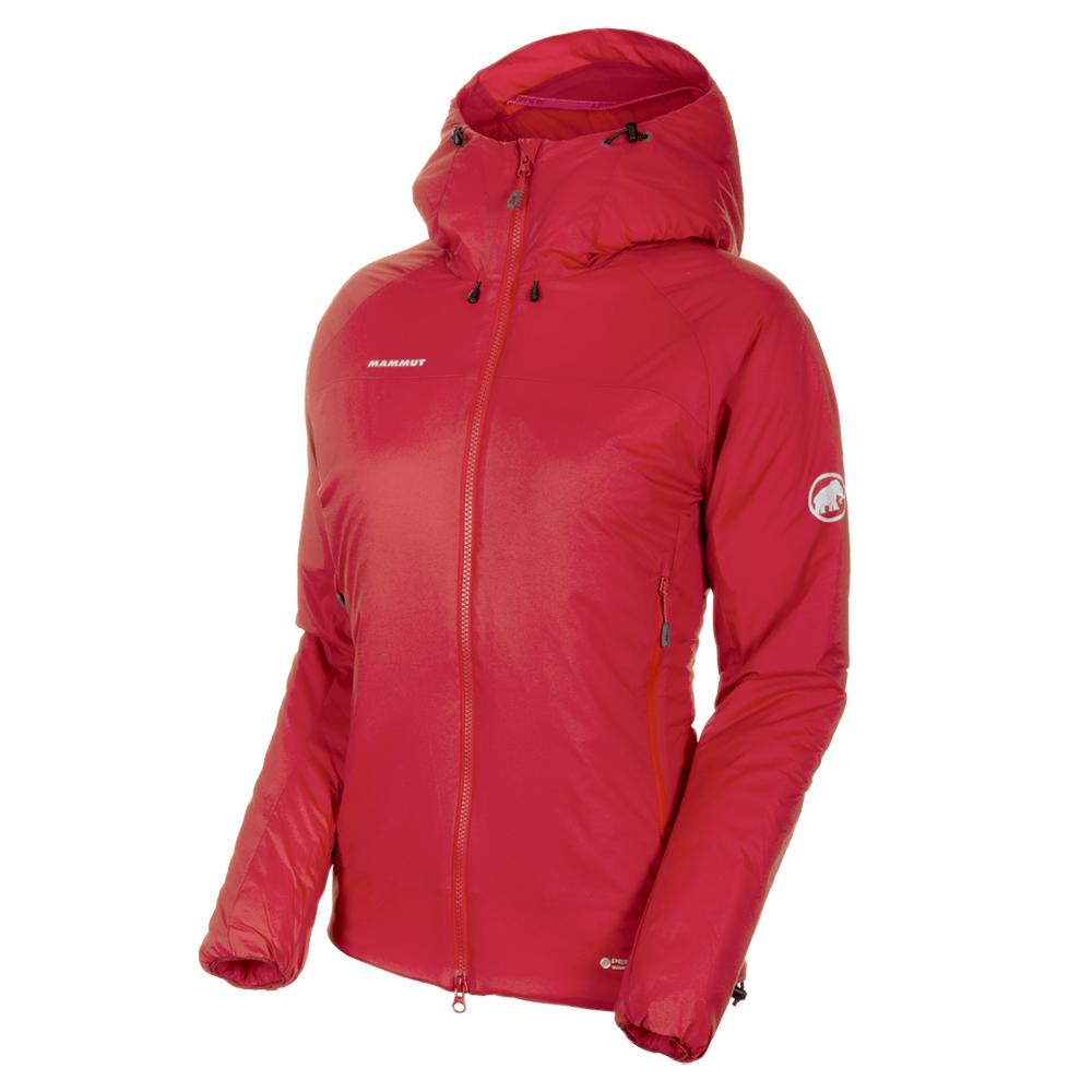 Kabátok Mammut Rime IN Flex Hooded Jacket Women 3465 magma