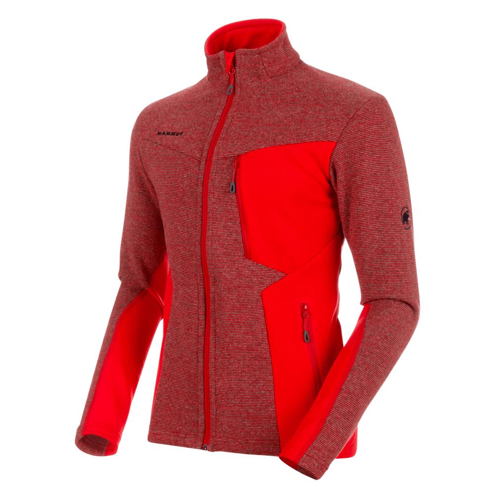 Jacken Mammut Stoney ML Wool Jacket Men 3502 magma-phantom melange