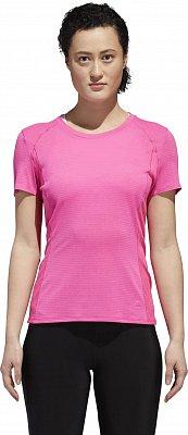Dámske bežecké tričko adidas Franchise Supernova Short Sleeve Tee Women