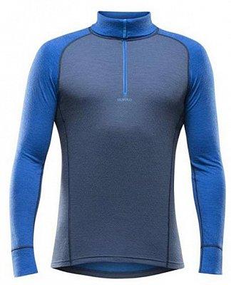 Pánske tričko s dlhým rukávom Devold Vision Man Zip Neck