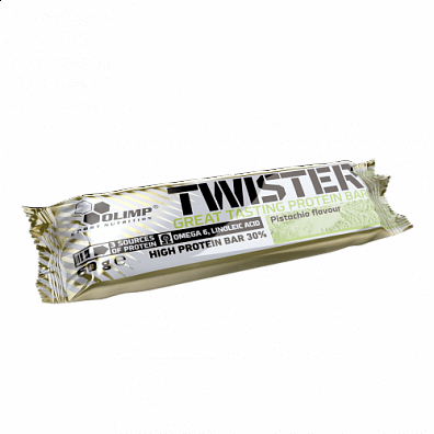 Tyčinky Twister High protein bar, 60g, Olimp