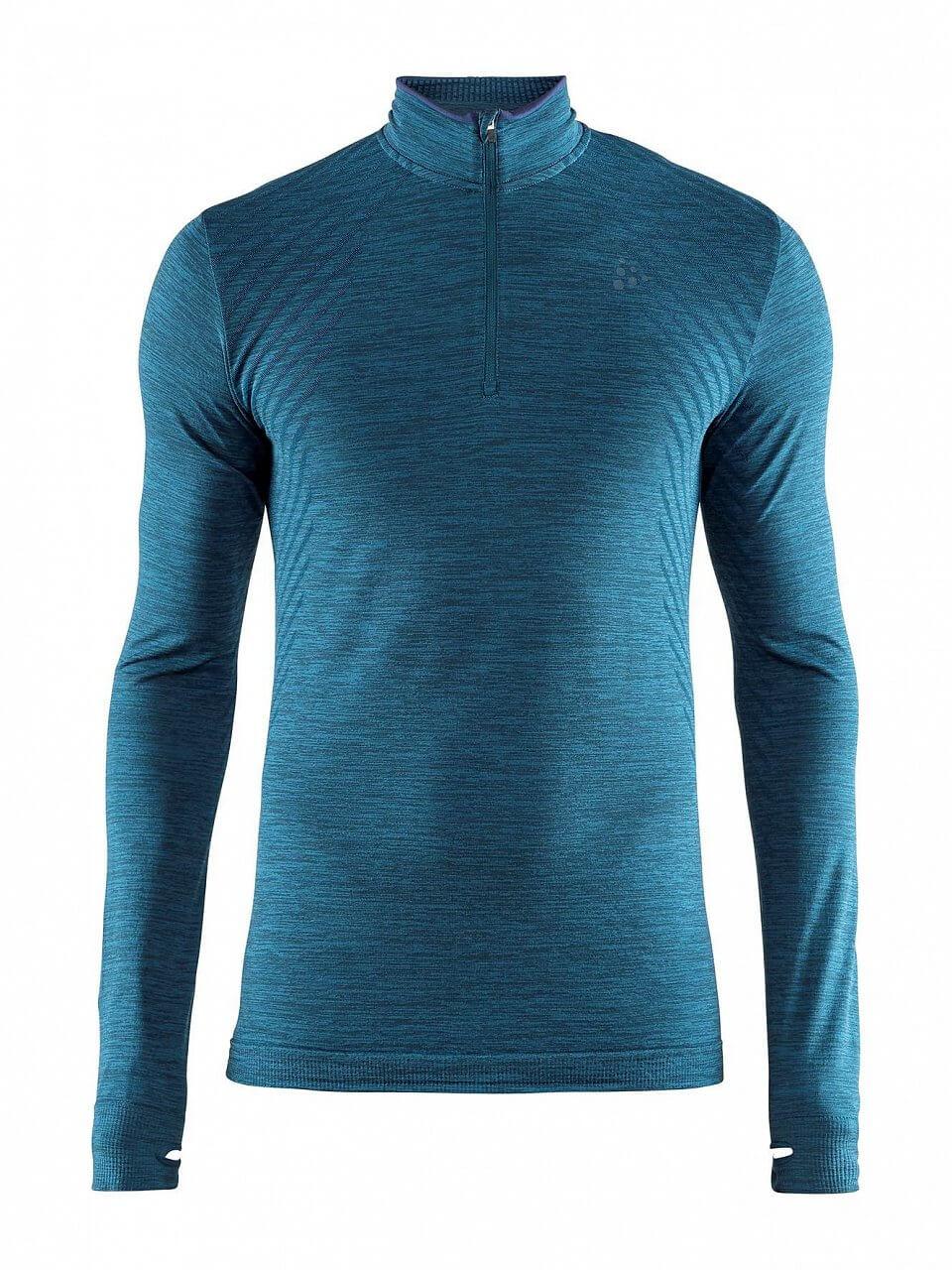 T-Shirts Craft Triko Fuseknit Comfort Zip