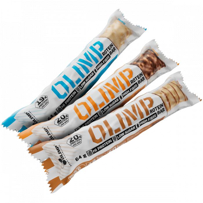 Tyčinky OLIMP PROTEIN BAR, tyčinka 20g proteinu, 64 g