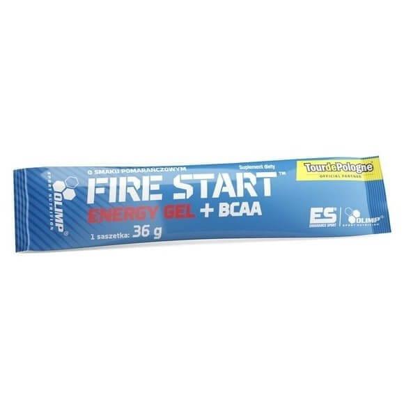 Nápoje OLIMP, FIRE START™, ENERGY GEL+BCAA, 36g