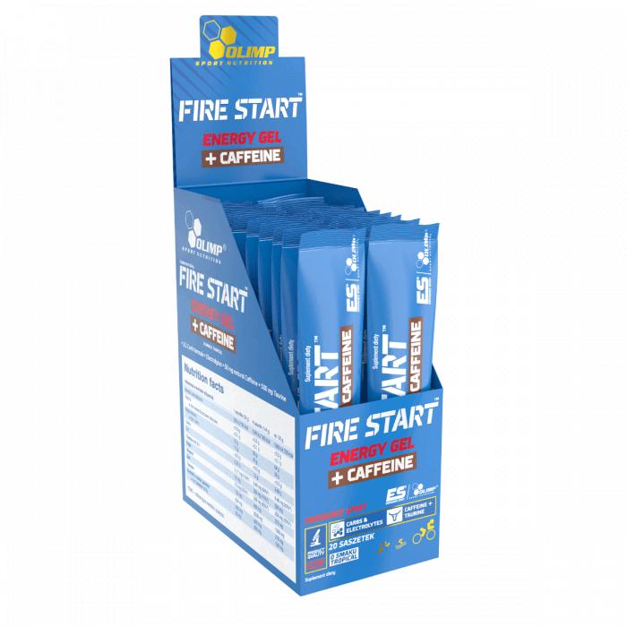 Nápoje OLIMP, FIRE START™, ENERGY GEL+CAFFEINE, 36g