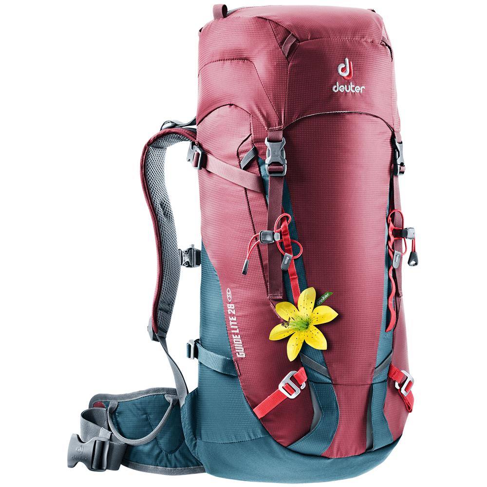Taschen und Rucksäcke Deuter Guide Lite 28 SL (3360017) Maron-arctic