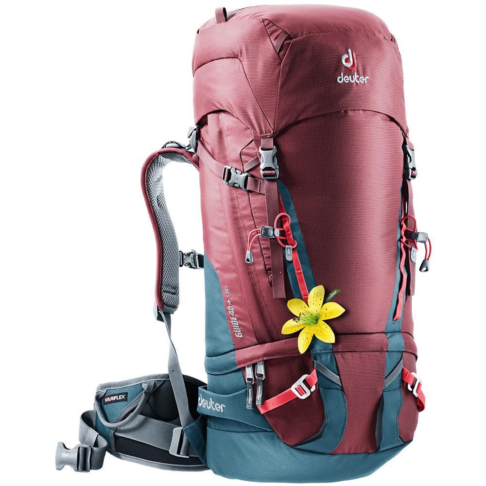 Taschen und Rucksäcke Deuter Guide 40+ SL (3361217) Maron-arctic