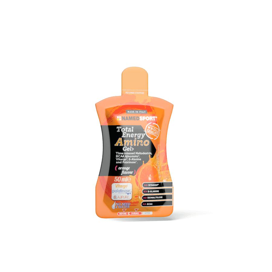 Nápoje NAMEDSPORT, Total Energy Amino gel, pomeranč, 50ml