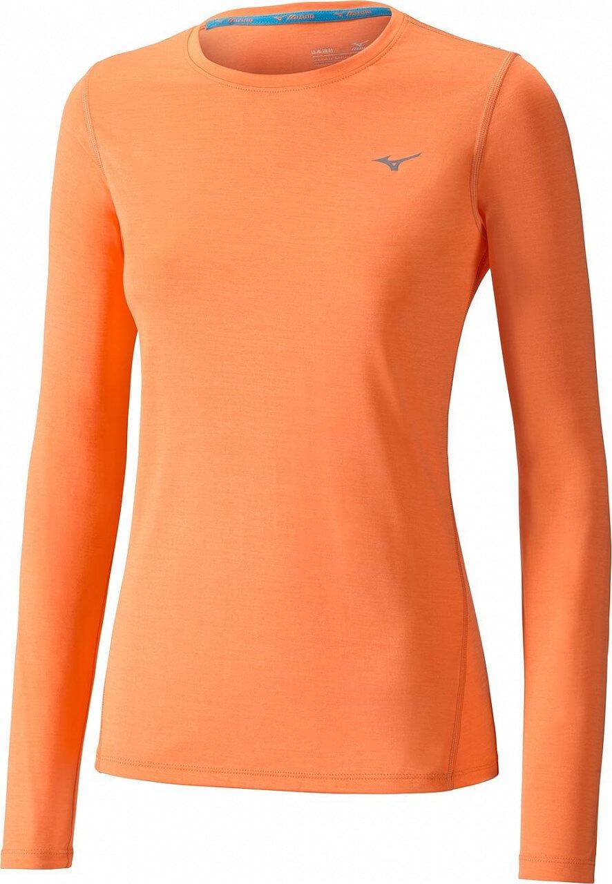 Dámské sportovní tričko Mizuno Impulse Core LS Tee