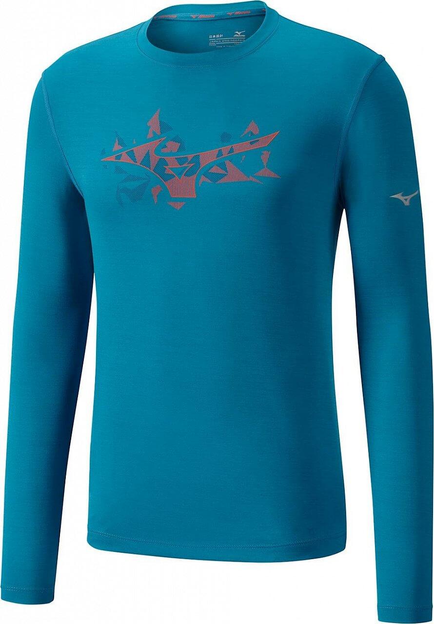 Pánské sportovní tričko Mizuno Impulse Core Graphic LS Tee