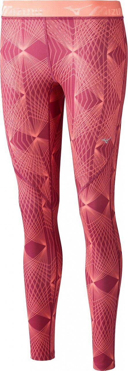 Dámské sportovní kalhoty Mizuno Impulse Printed Long Tight
