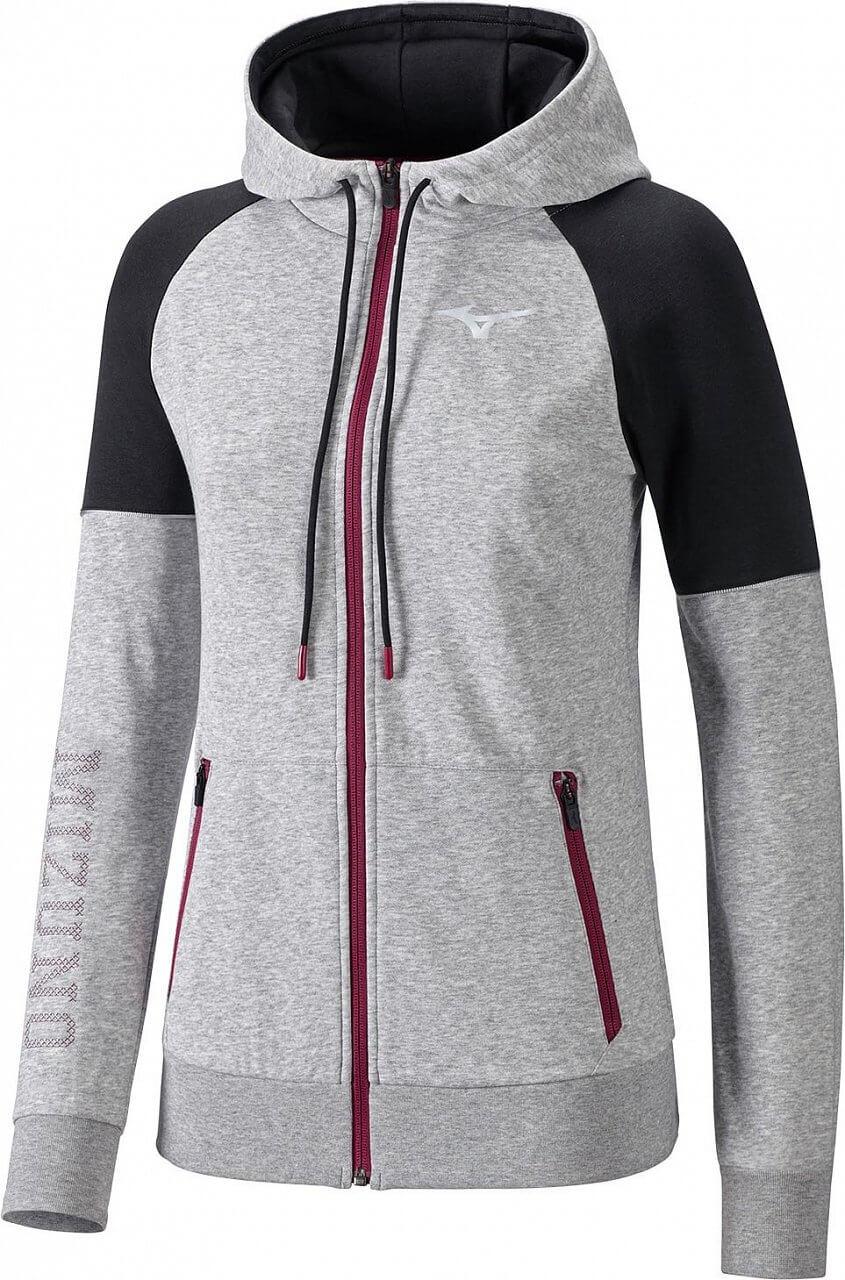 Sweatshirts Mizuno Heritage Zip Hoody