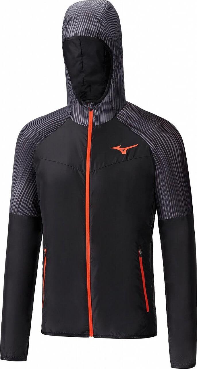 Pánská tenisová bunda Mizuno Printed Hoodie Jacket
