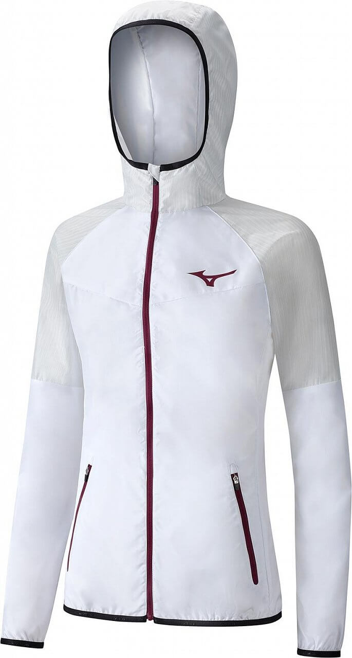 Dámská tenisová bunda Mizuno Printed Hoodie Jacket