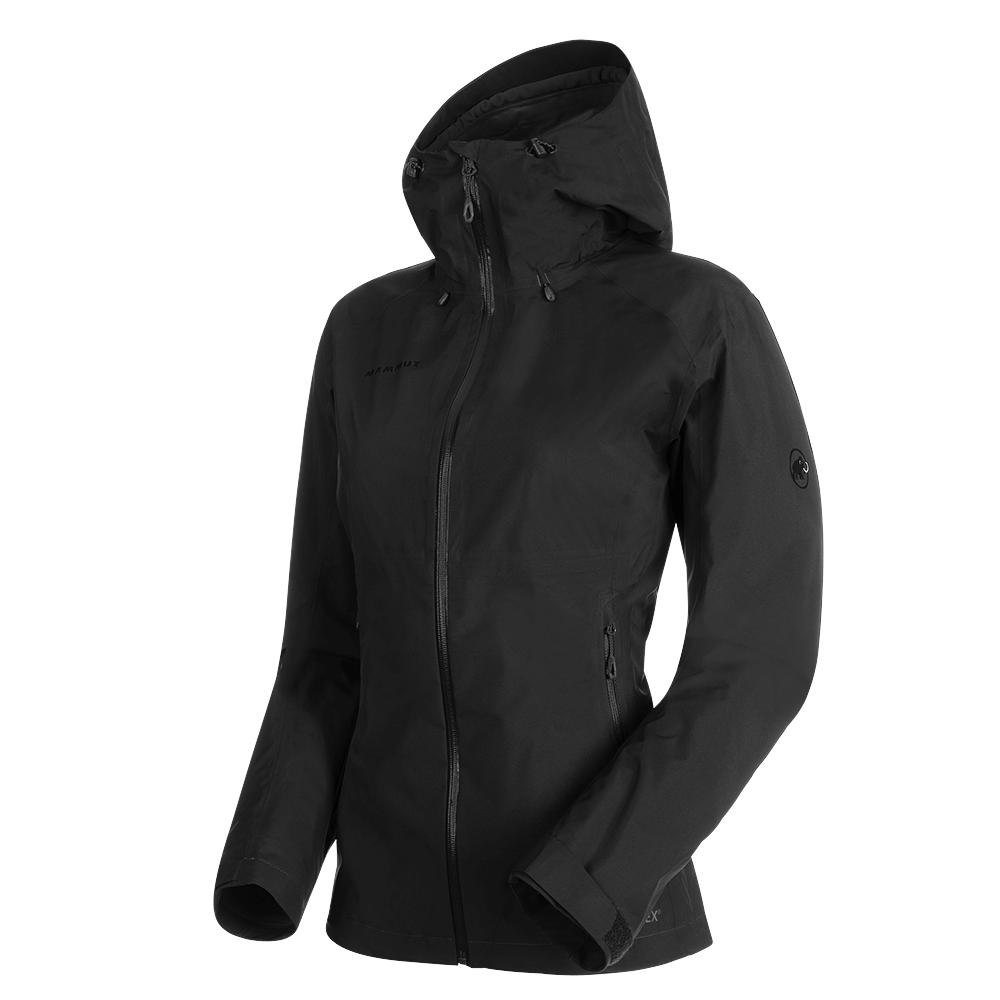 Bundy Mammut Convey Tour HS Hooded Jacket Women black 0001