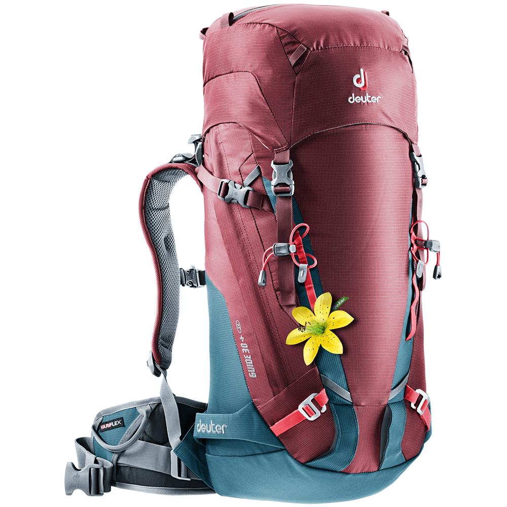 Taschen und Rucksäcke Deuter Guide 30+ SL (3361017) Maron-arctic