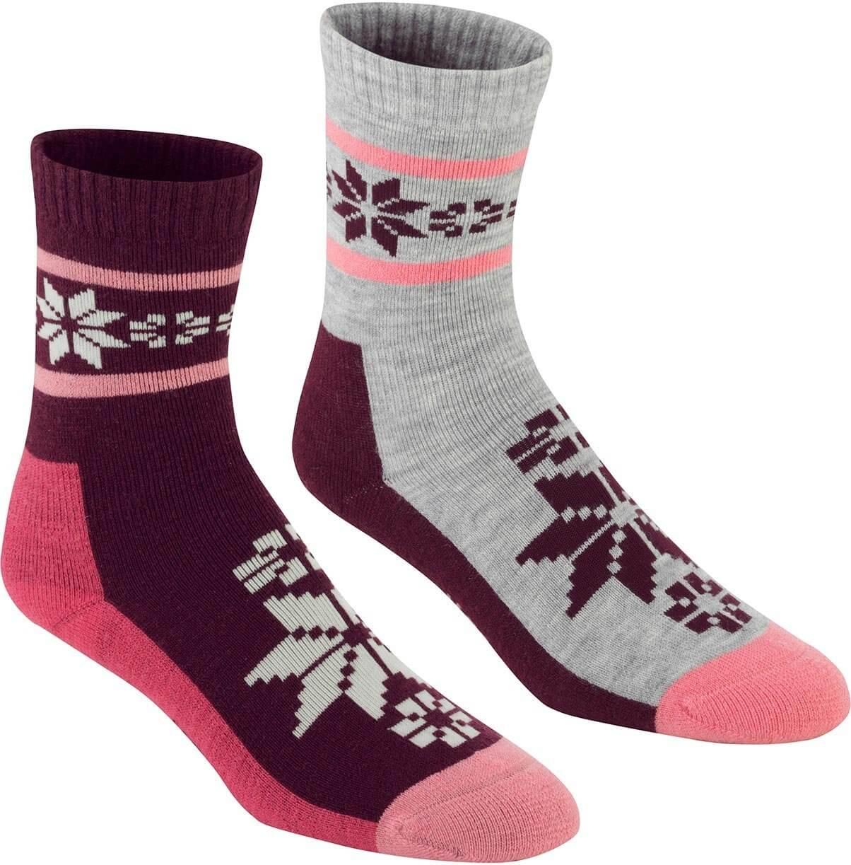 Dámské sportovní ponožky Kari Traa Rusa Wool Sock 2pk
