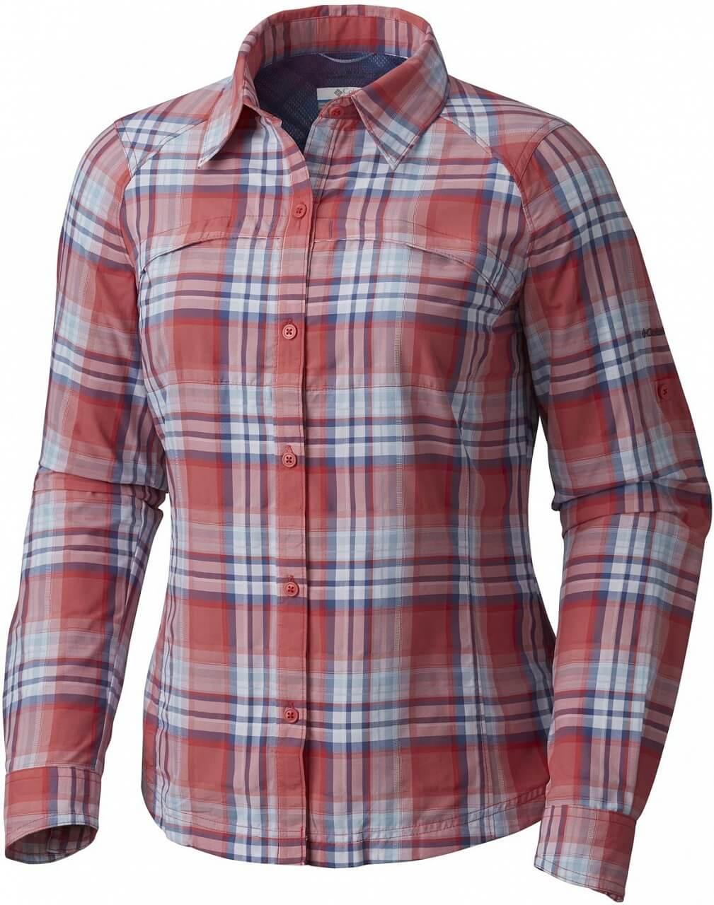 Dámská košile Columbia Silver Ridge Plaid Long Sleeve Shirt