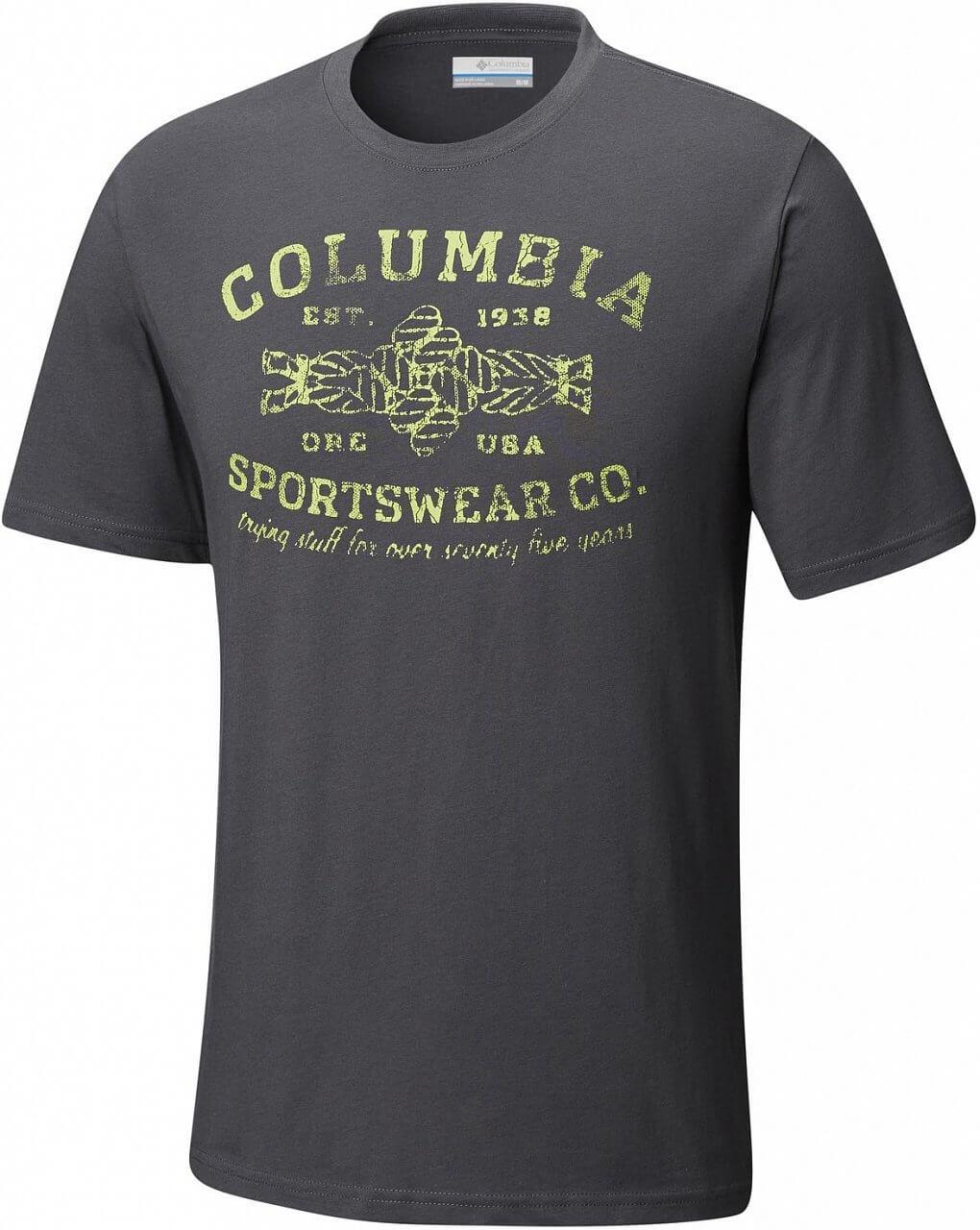 Pánské tričko Columbia Rough N' Rocky Short Sleeve Tee