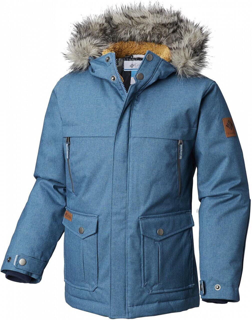 Dětská bunda Columbia Barlow Pass 600 TurboDown Jacket
