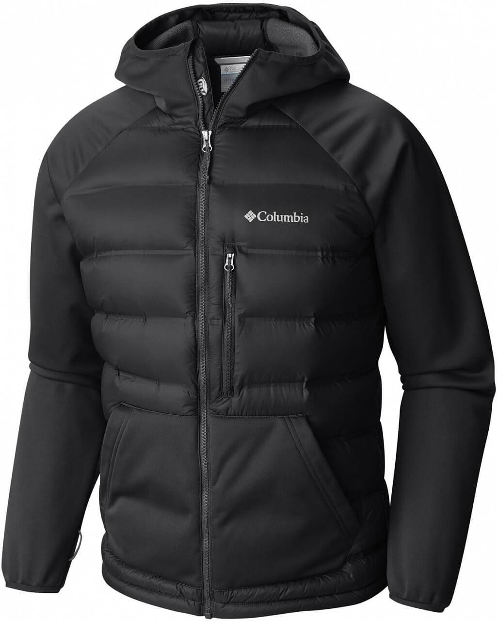Pánská bunda Columbia Ramble Down Hybrid Hooded Jacket