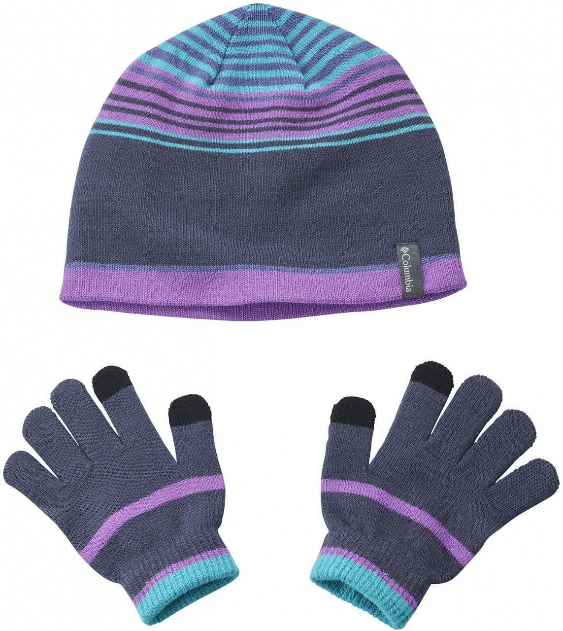 Set dětské čepice s rukavicemi Columbia Youth Hat and Glove Set