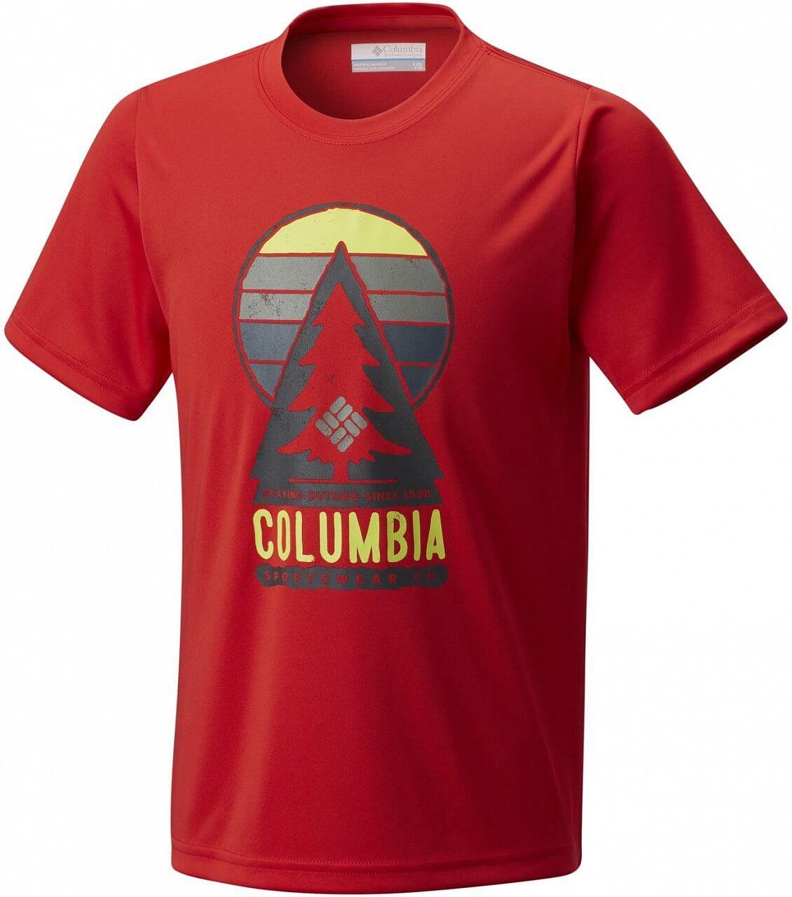 Dětské tričko Columbia Always Outside Short Sleeve Shirt