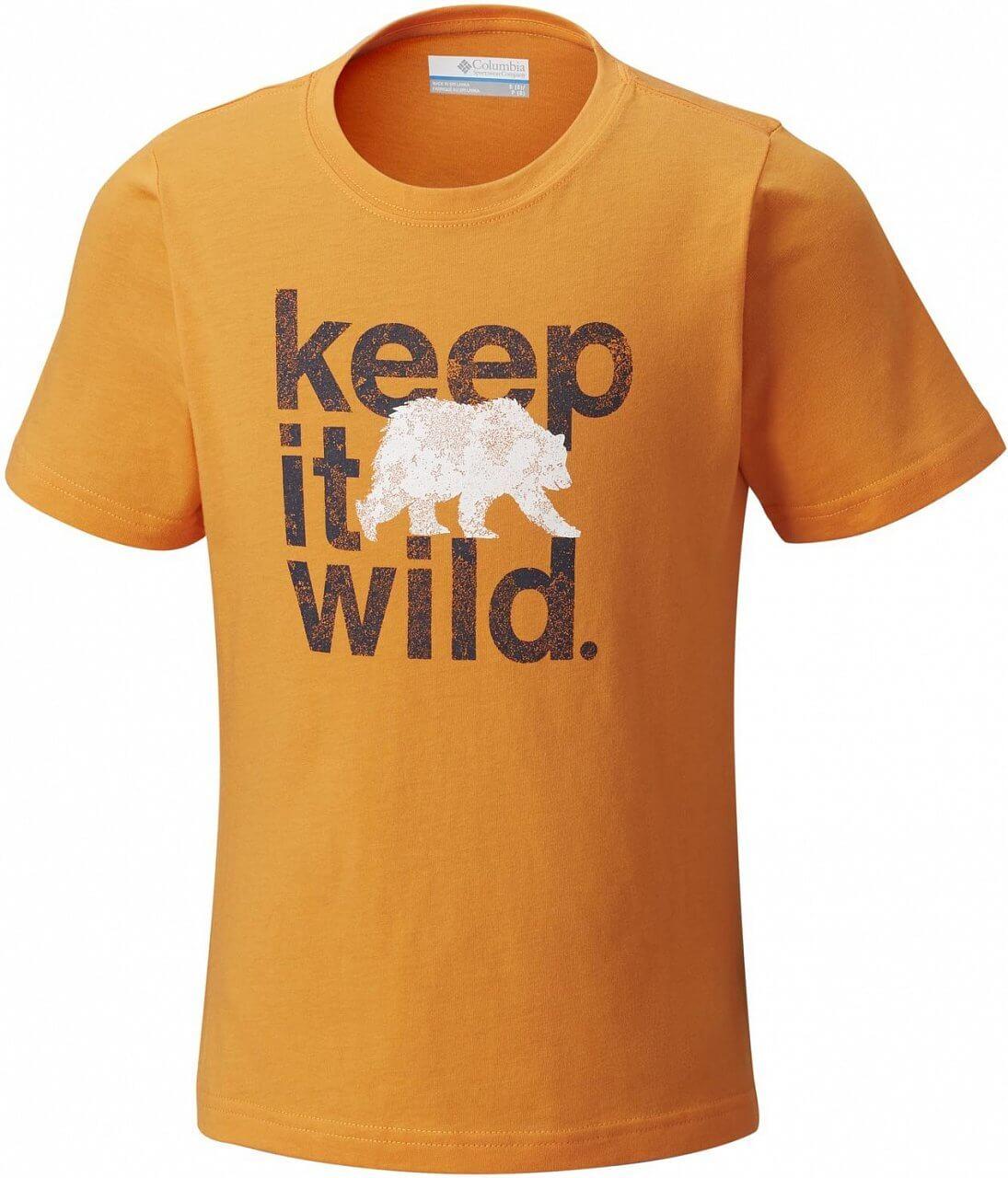Dětské tričko Columbia Outdoor Elements Short Sleeve Shirt