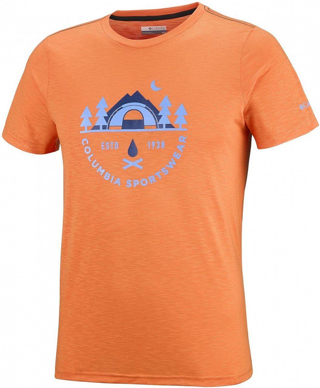 Pánské tričko Columbia Nelson Point Graphic Short Sleeve Tee