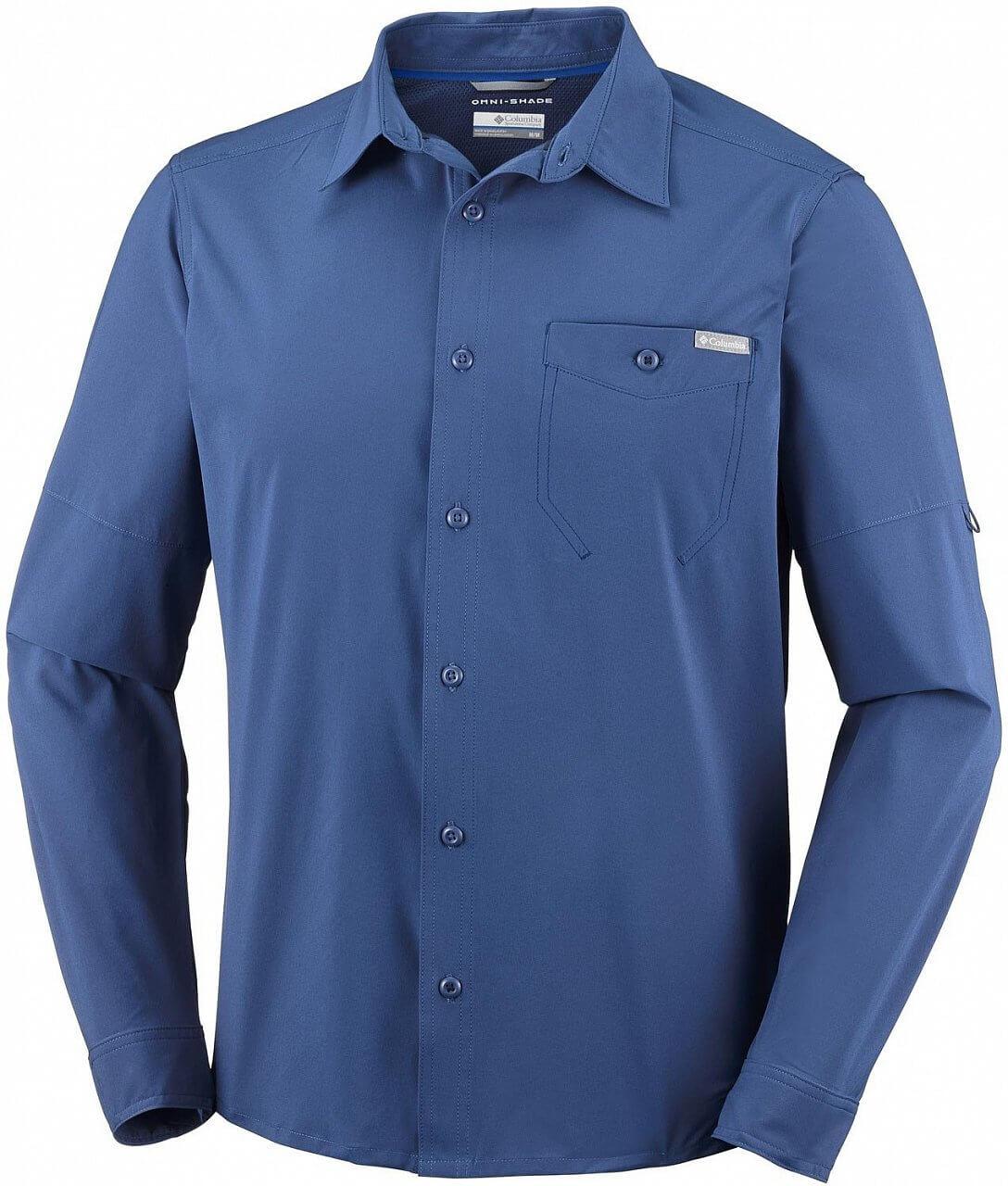 Pánská košile Columbia Triple Canyon Solid Long Sleeve Shirt