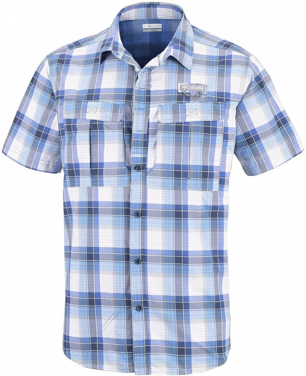 Pánská košile Columbia Cascade Explorer Plaid SS Shirt