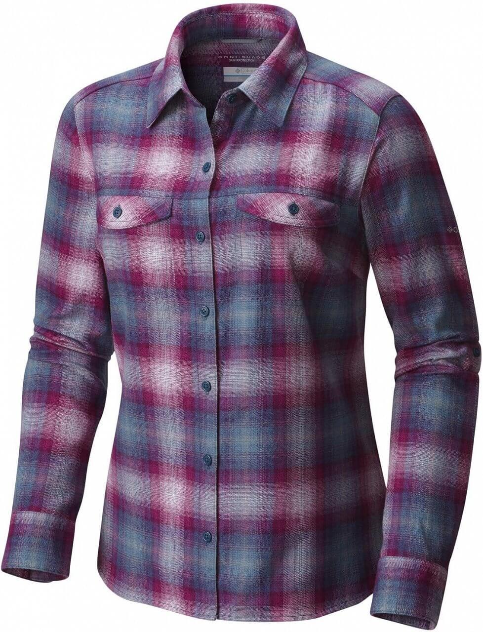 Dámská košile Columbia Silver Ridge Long Sleeve Flannel