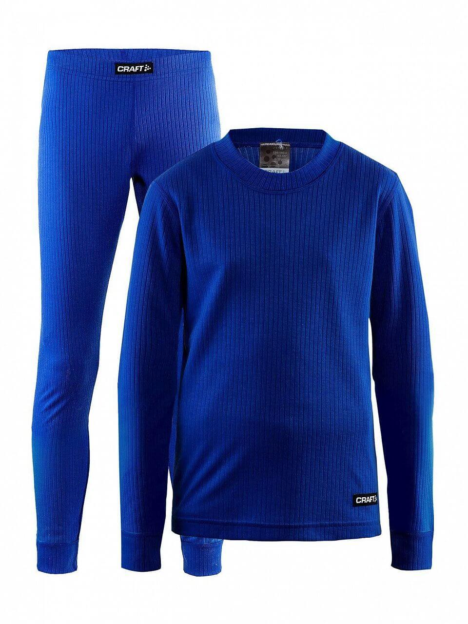 Spodní prádlo Craft Set Baselayer Junior modrá