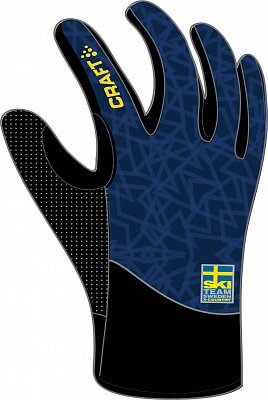 Rukavice Craft Rukavice Ski Team Intensity tmavě modrá